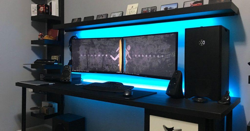 22 Awesome Gaming Battlestations Pc Setups 187 Man Cave Mafia